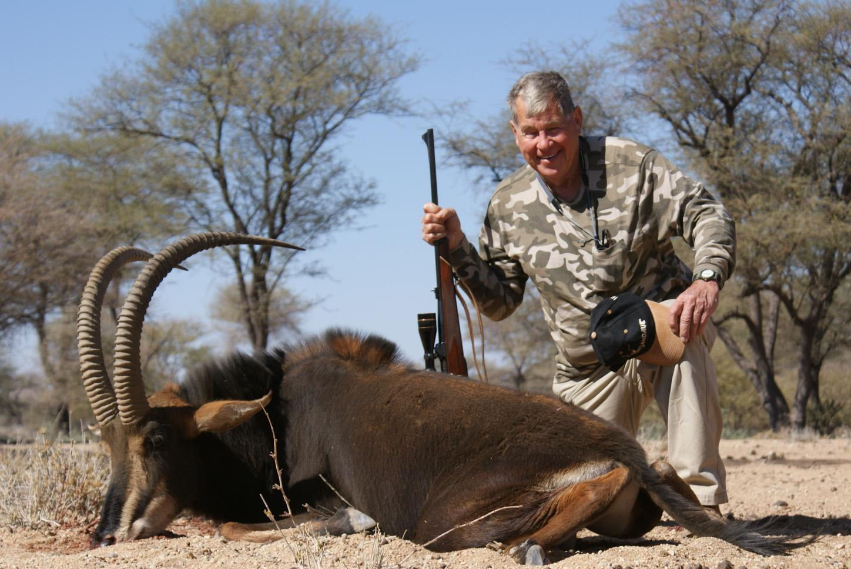 Jay Dawe - USA Trophy hunting Namibia