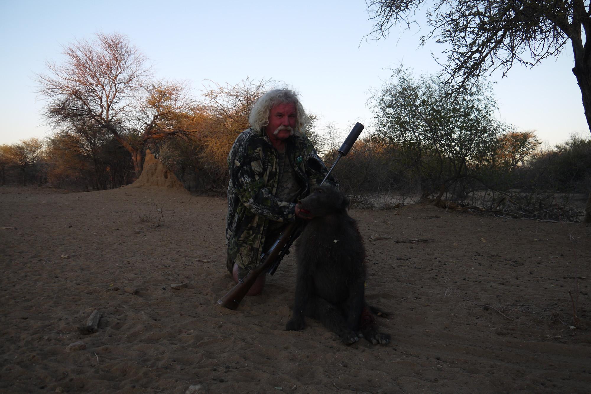 Larry Gilbert - Australia Trophy Hunting Namibia