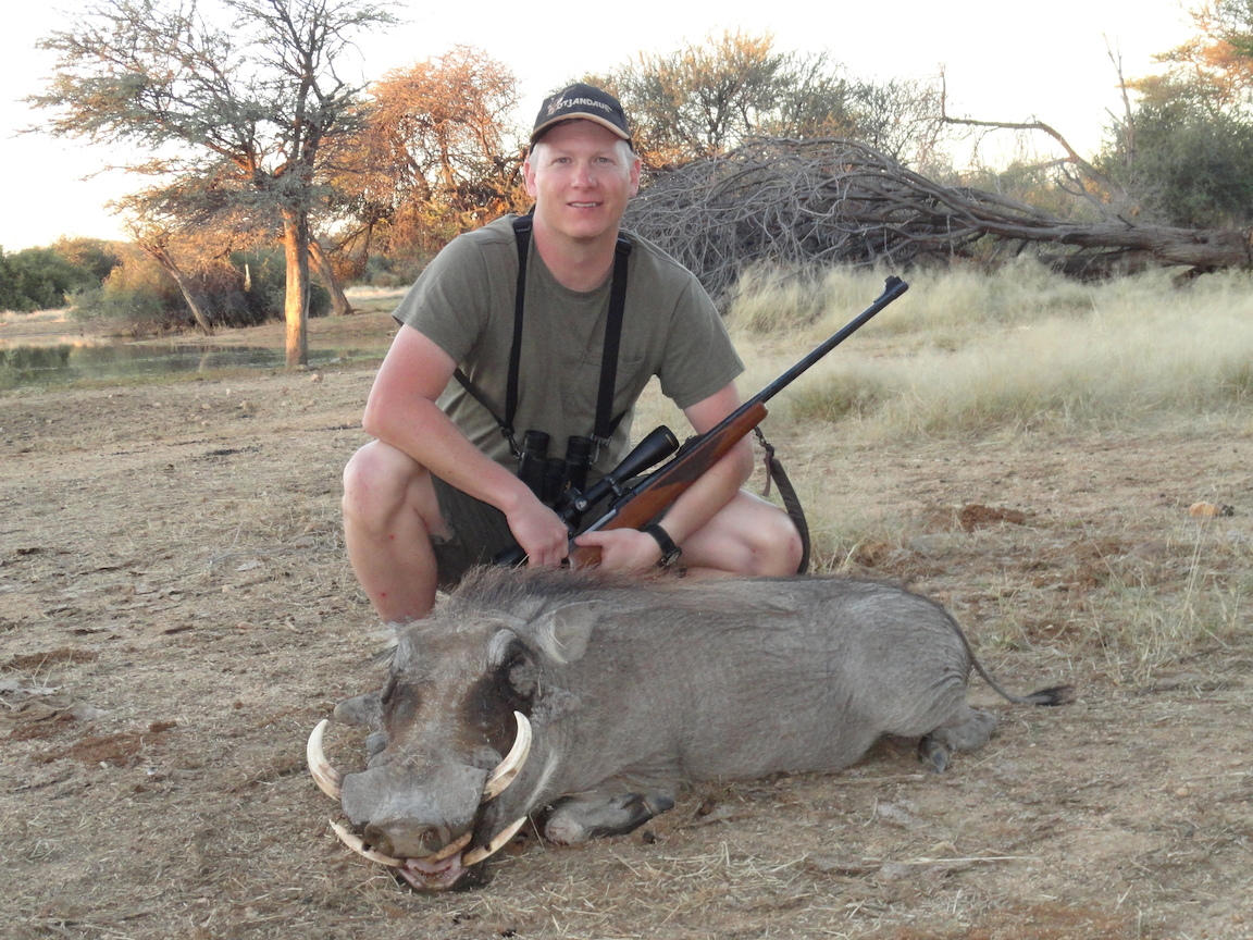 Tom Evans - USA Trophy Hunting Namibia