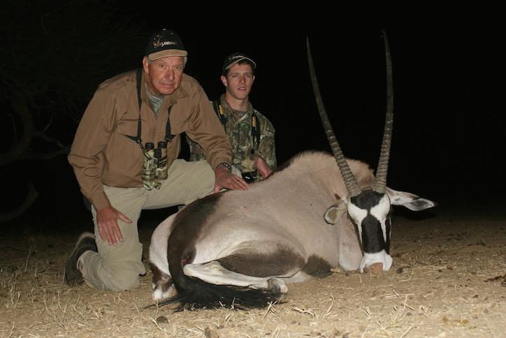Doug Grove - USA Trophy Hunting Namibia