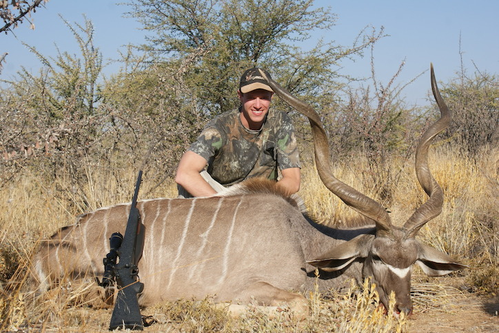 Kyle Grove - USA Trophy Hunting Namibia