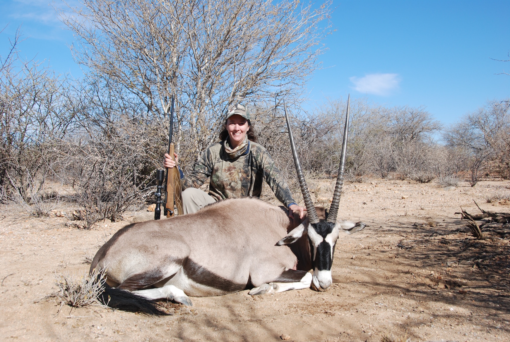 Kim Sparks - USA Trophy Hunting Namibia