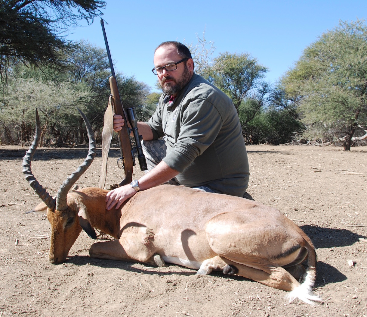 Jed Sparks - USA Trophy Hunting Namibia